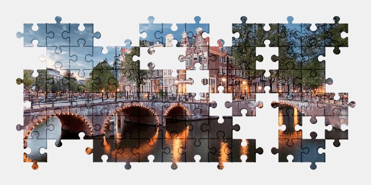 Пазлы Онлайн Амстердам