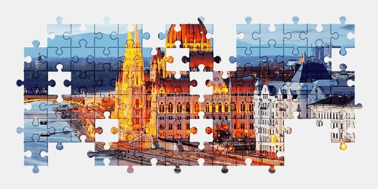 Пазлы Онлайн Будапешт