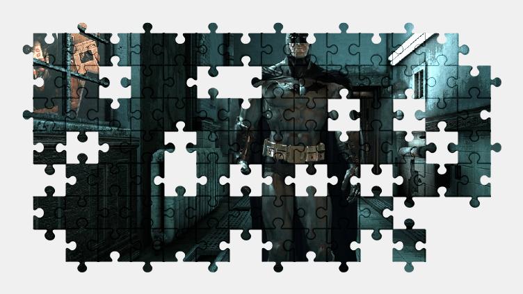 Пазлы Онлайн Бэтмен: Город Аркхем