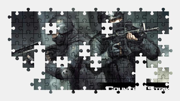 Пазлы Онлайн Counter-Strike