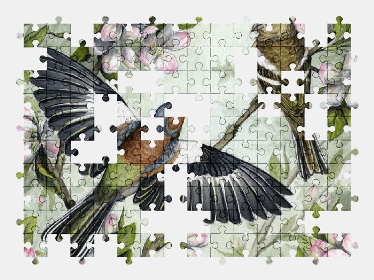 Пазлы Онлайн Птицы