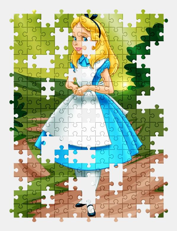 Пазлы Онлайн Алиса