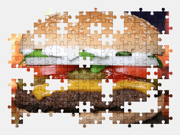 Пазлы Онлайн Гамбургер