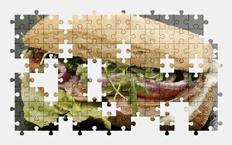 Пазлы Онлайн Сэндвич