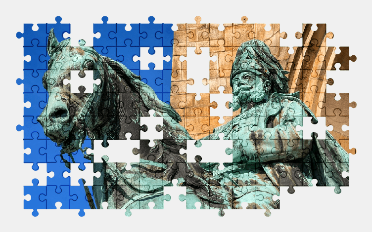 Пазлы Онлайн Памятник