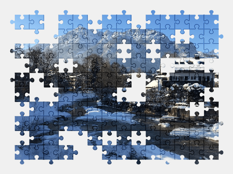 Пазлы Онлайн Зима
