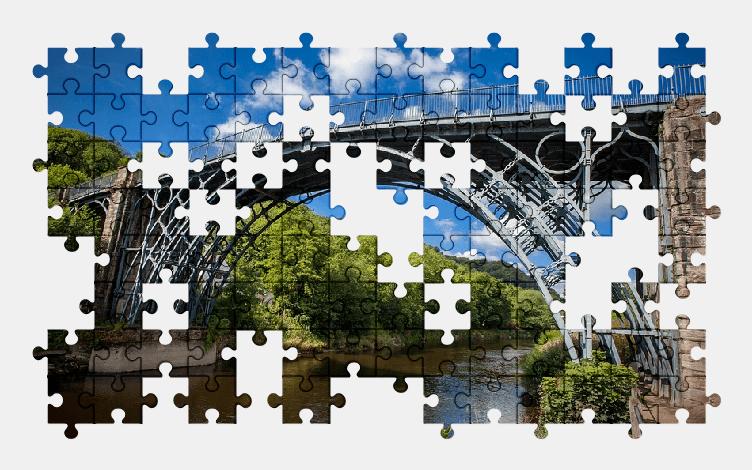 Пазлы Онлайн Мост