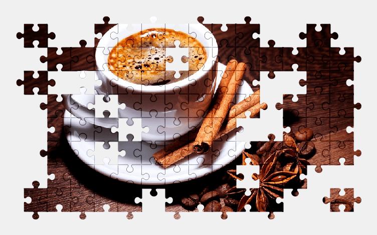 Пазлы Онлайн Кофе