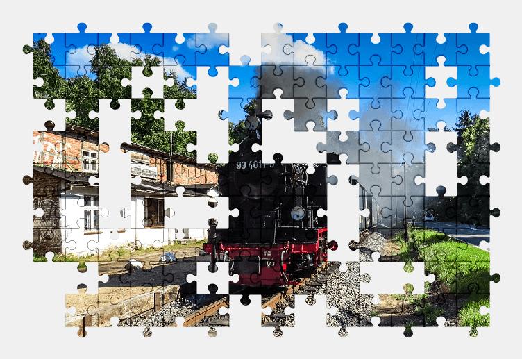 Пазлы Онлайн Поезд