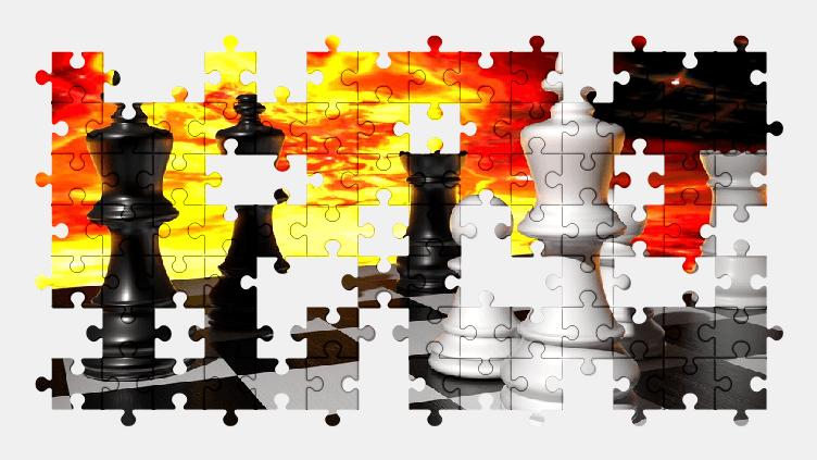 Пазлы Онлайн Шахматы